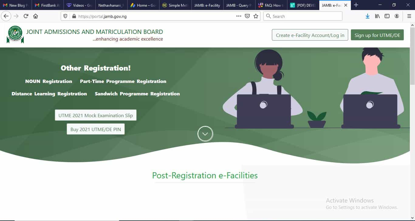 how to buy 2021 jamb form