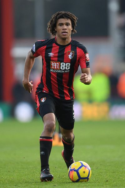 Nathan Ake playing for AFC Bournemouth