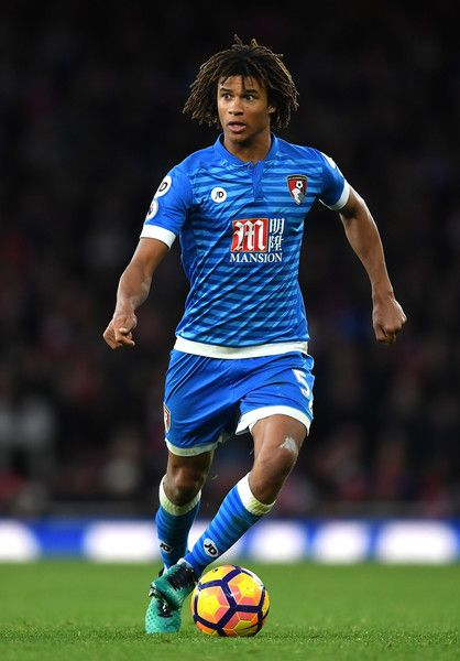 Ake playing for Eddie Howe