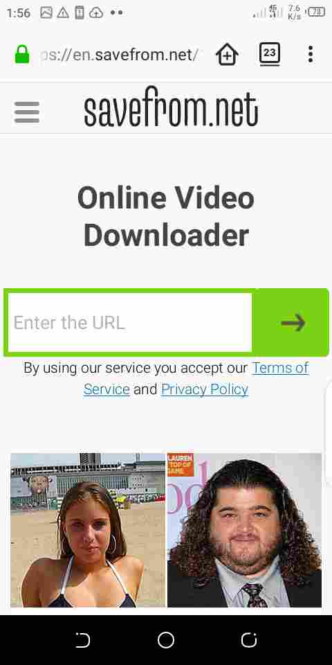 how to save video using savefrom