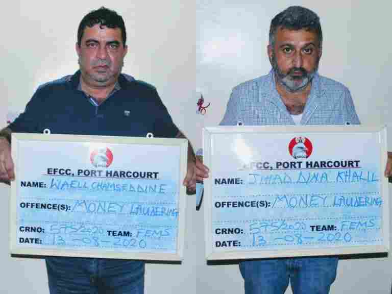 Two Lebanese Sent to Jail