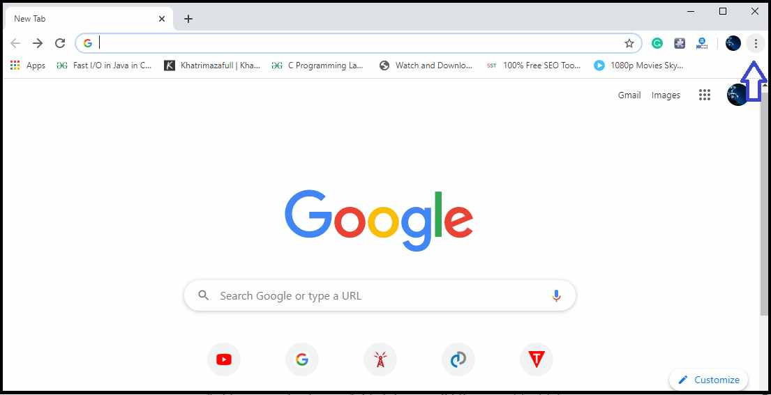how to enable Javascript in chrome browser