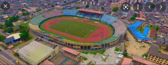 Teslim Balogun Stadium In Lagos