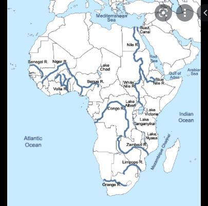 The List Of Rivers In Africa