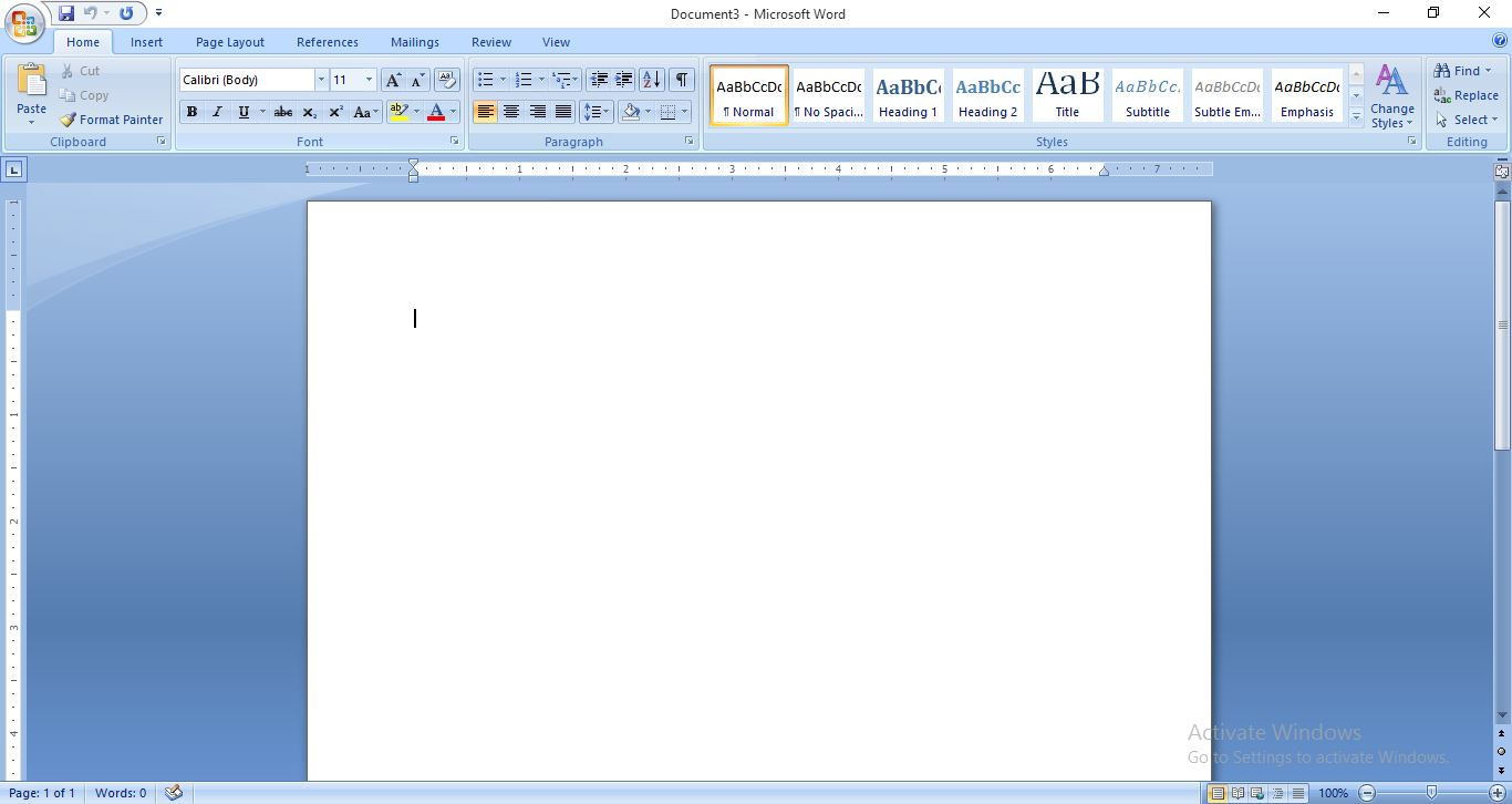 Top 4 Steps On How To Open Microsoft Word 2007
